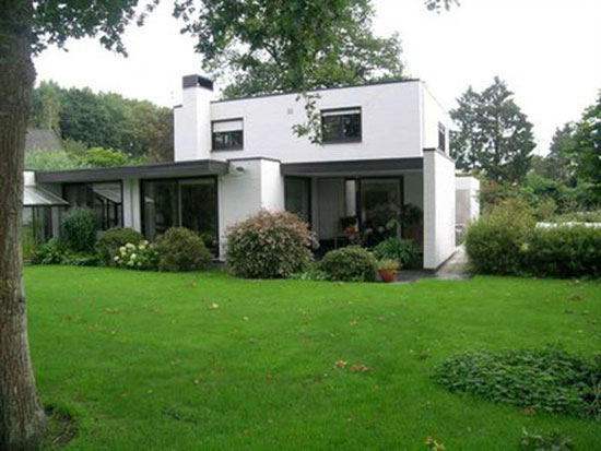 Four-bedroom 1970s modernist house in Oostkamp, near Bruges, Belgium