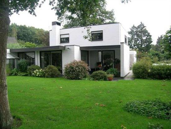 On the market: Four-bedroom 1970s modernist house in Oostkamp, near Bruges, Belgium