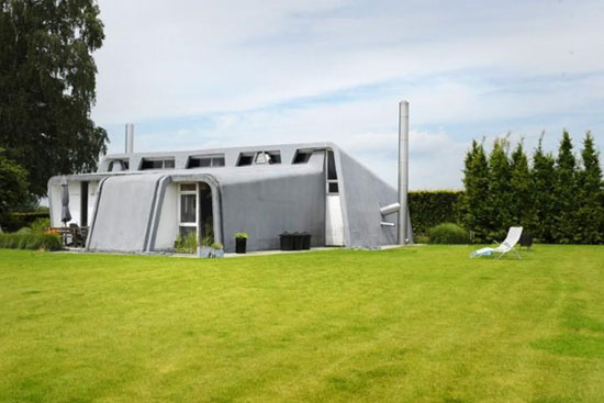 1960s Willy Van Der Meeren-designed modernist property in Tomberg, Pajottenland, Belgium