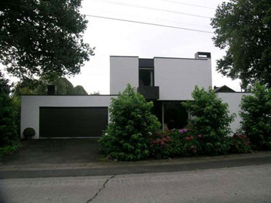 Four-bedroom 1970s modernist house in Oostkamp, near Bruges, Belgium