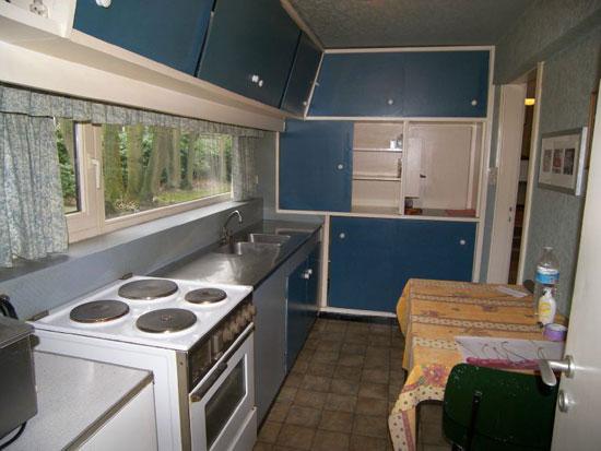 1950s midcentury modern property in Assebroek, near Bruges, Belgium