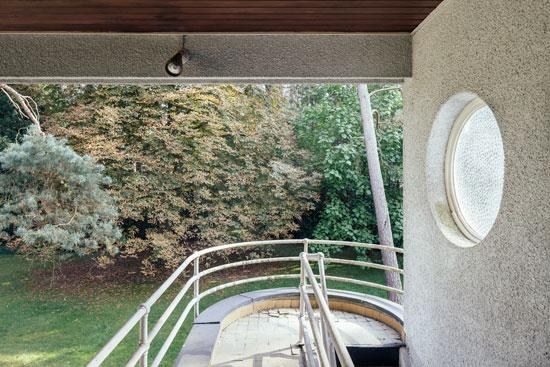 1930s Leon Stynen-designed modernist property in Schoten, Antwerp, Belgium