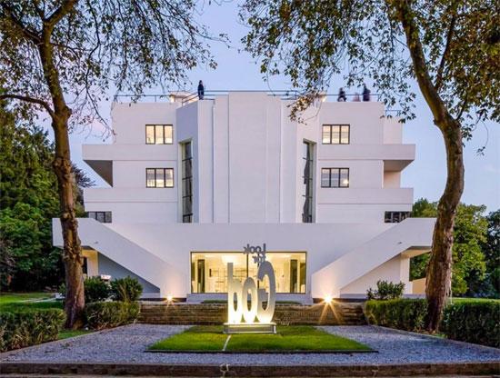 1920s Marcel Leborgne-designed La Villa Dirickz in Sint-Genesius-Rode, Belgium