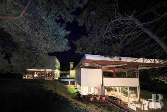 1960s Dominique-Alexandre Louis-designed modernist property in Epinal, Vosges, eastern France