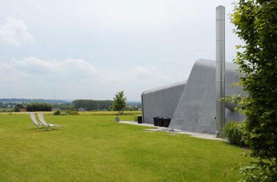 1960s Willy Van Der Meeren-designed modernist property in Tomberg, Pajottenland, Belgium