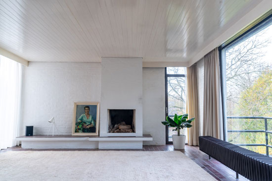 1970s Roger Vanhoof modern house in Leuven, Belgium