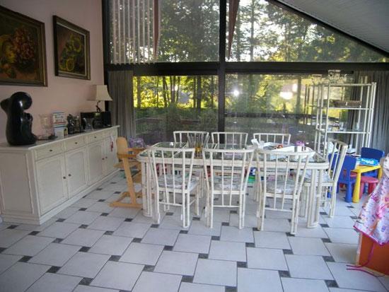 1970s midcentury five bedroom house in Hertsberge, West Flanders, Belgium