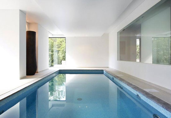 André Jacqmain-designed contemporary modernist property in Rhode-St-Genese, near Brussels, Belgium