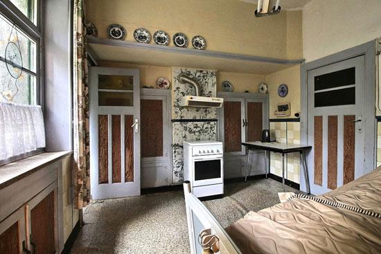 1920s art deco time capsule property in Jette, Belgium