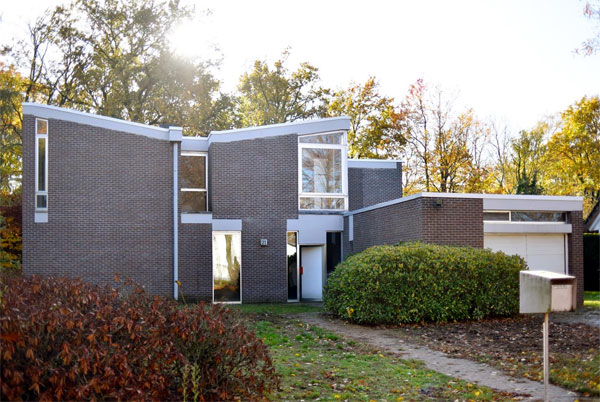 1960s Marc Dessauvage modernist house in Brasschaat, Belgium