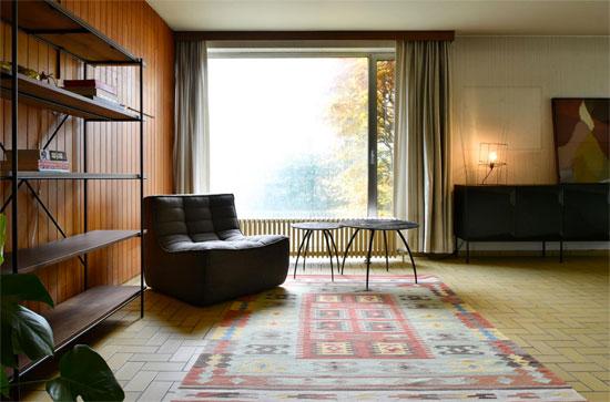 1960s Marc Dessauvage modernist house in Brasschaat, Belgium