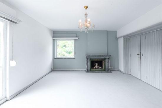 1950s Daniel Lipszyc midcentury modern property in Braine-l'Alleud, Belgium