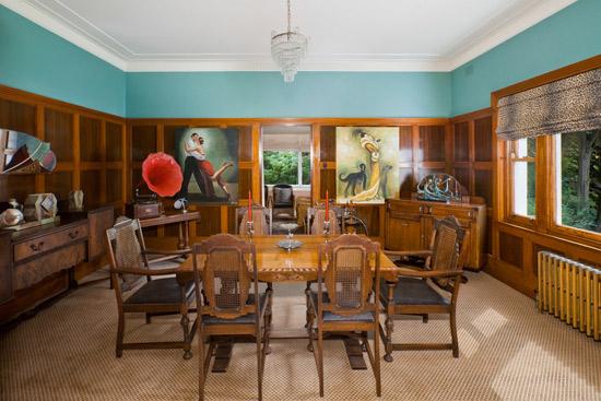 Bellevue Park 1930s art deco house in Burradoo, New South Wales, Australia