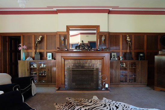 Bellevue Park 1930s art deco house in Burradoo, New South Wales, Australia
