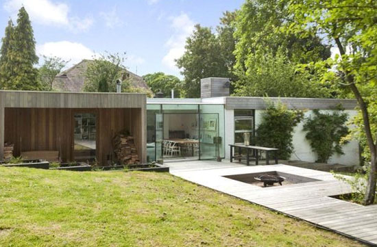 On the market: 1960s single-storey modernist property in Berkhamsted, Hertfordshire