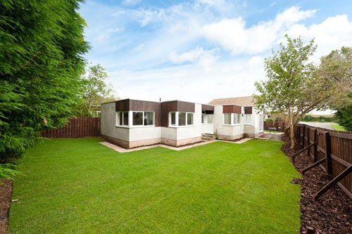1960s midcentury-style four-bedroomed house in North Berwick, East Lothian, Scotland
