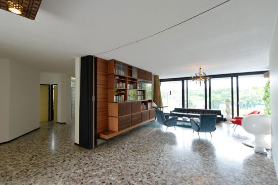 1950s Georges Lacaze-designed modernist property in Bergerac, Dordogne, France