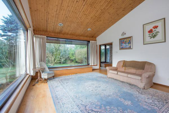 1960s Morris and Steedman-designed modernist property in North Berwick, East Lothian, Scotland