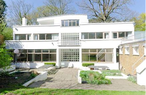 For sale: Grade II-listed, Berthold Lubetkin-designed Six Pillars modernist house in London SE26 from the 1930s
