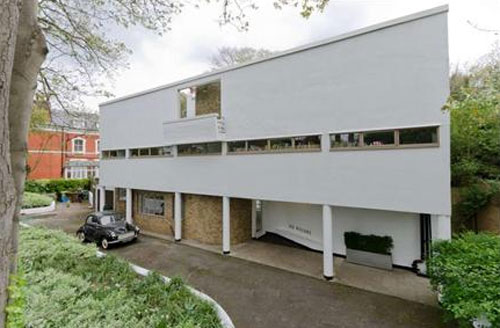 Berthold Lubetkin-designed Six Pillars modernist house
