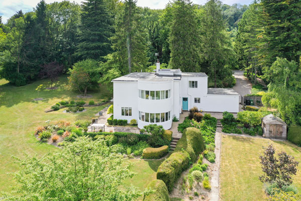 1930s Ernst L Freud modern house in Betchworth, Surrey