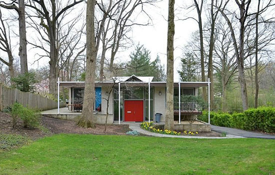 To let: 1960s Harold Esten-designed Jasper House in Bethesda, Maryland, USA