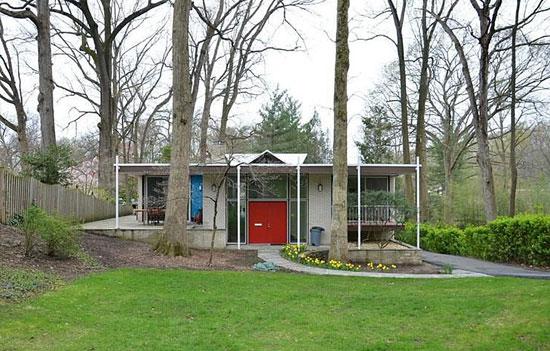 To let: 1960s Harold Esten-designed Jasper House in Bethesda, Maryland, USA