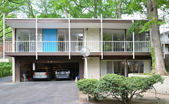 1960s Harold Esten-designed Jasper House in Bethesda, Maryland, USA