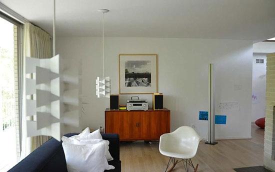 1960s Harold Esten-designed Jasper House in Bethesda, Maryland, USA