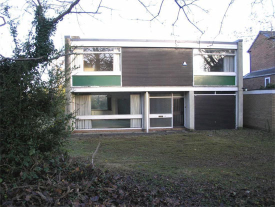 1960s modernist property in Beverley, East Yorkshire
