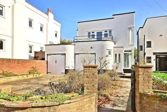 On the market: Four-bedroom 1930s art deco property in Bexleyheath, Kent