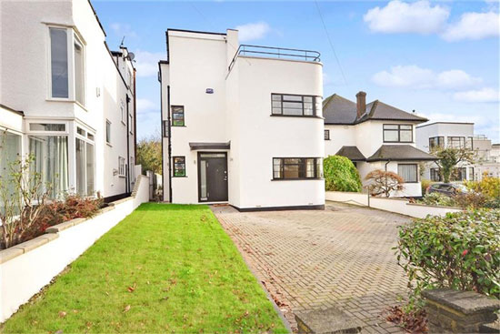 On the market: 1930s grade II-listed art deco property in Bexleyheath, Kent