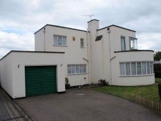 On the market: Three bedroom 1930s art deco house in Birstall, Leicester