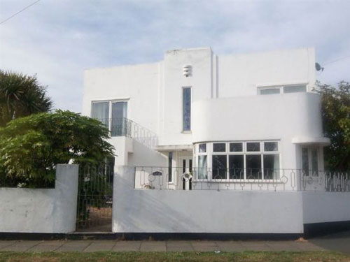 The White House 1930s art deco house in Birchington, Kent