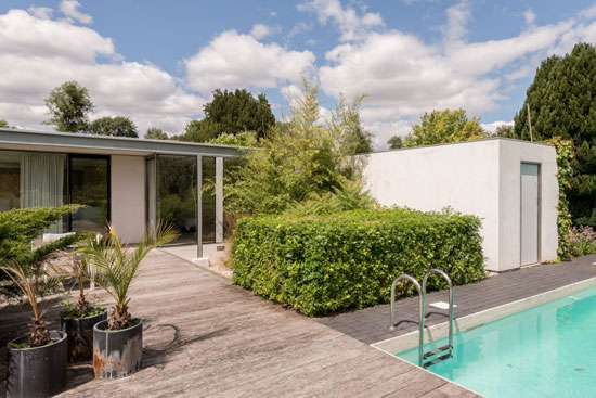On the market: Michael Newberry-Designed single-storey modernist property in Bishopstrow, Wiltshire