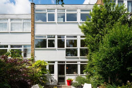1960s Lyster, Grillet and Harding-designed townhouse in Bishop's Stortford, Hertfordshire