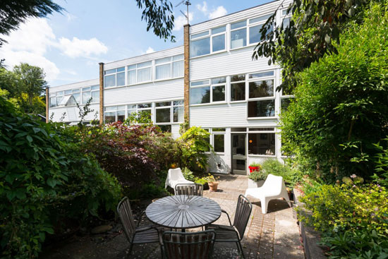 1960s Lyster, Grillet and Harding-designed townhouse in Bishop's Stortford, Hertfordshire