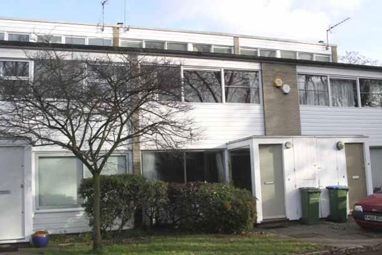 On the market: 1960s Eric Lyons-designed Span House in Blackheath, London SE3