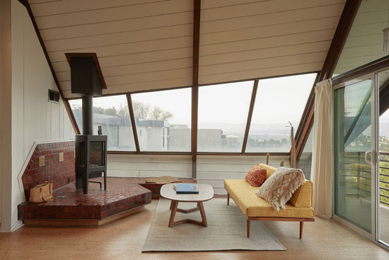 1950s Harry Gesner Boat House in Los Angeles, California, USA