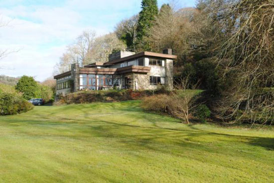 On the market: 1960s three-bedroom modernist property in Bodmin, Cornwall