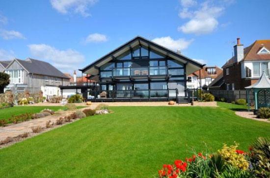 On the market: Four-bedroom modernist Huf Haus in Aldwich, near Bognor Regis, West Sussex