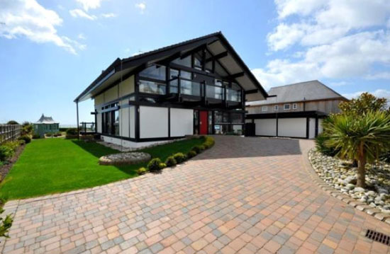 Four-bedroom modernist Huf Haus in Aldwich, near Bognor Regis, West Sussex