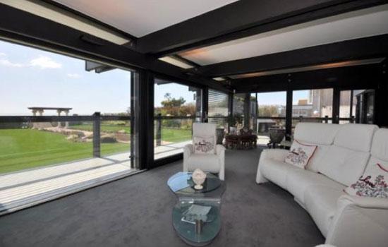 Four-bedroom modernist Huf Haus in Aldwich, near Bognor Regis, West Sussex