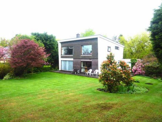 1960s architect-designed four-bedroom property in Bolton, Lancashire