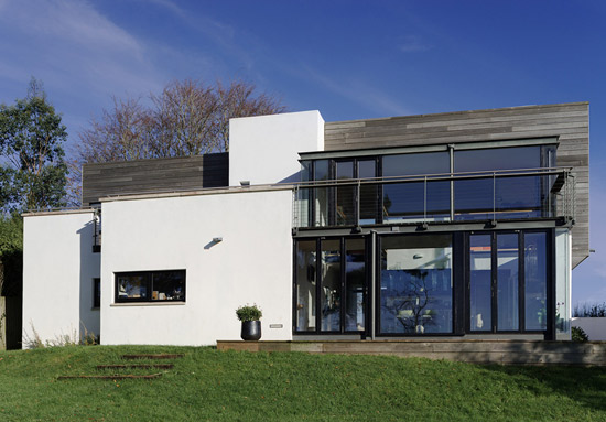 On the market: Stan Bolt-designed contemporary modernist property in Maidencombe, Devon