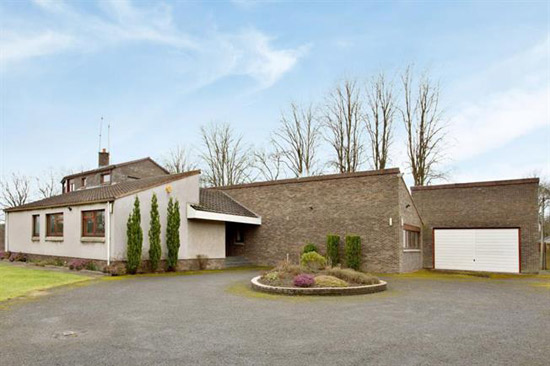 On the market: 1970s Wooddean House modernist property in Bothwell, Glasgow
