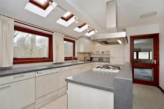 1970s Wooddean House modernist property in Bothwell, Glasgow