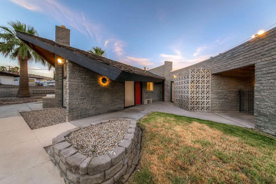 On the market: 1960s Frank Lloyd Wright-designed property in Boulder City, Nevada, USA