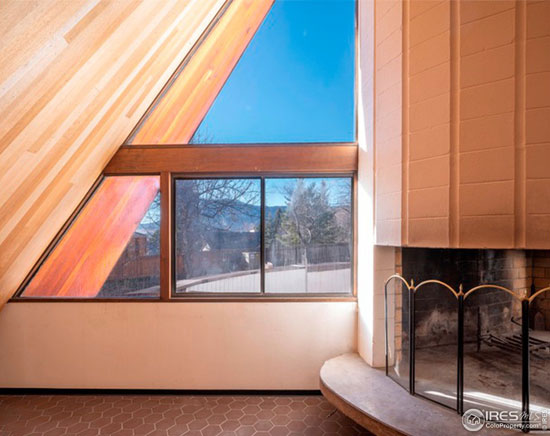 1970s Charles Haertling modernist house in Boulder Colorado, USA