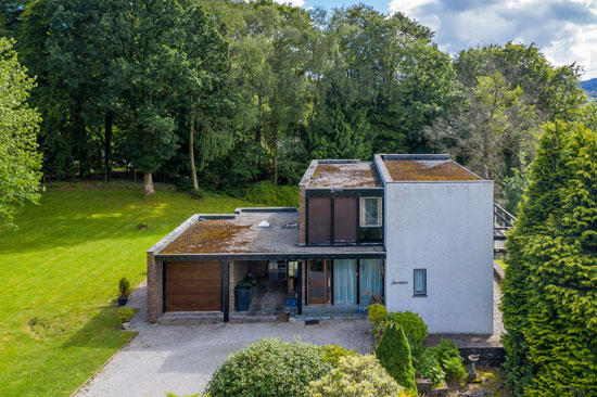 1960s modern house in Bowness-on-Windermere, Lake District